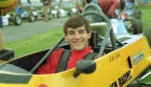 Ayrton Senna FF1600 in 1981