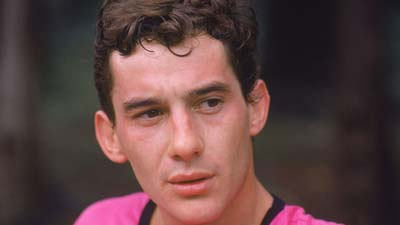Ayrton Senna in 1986