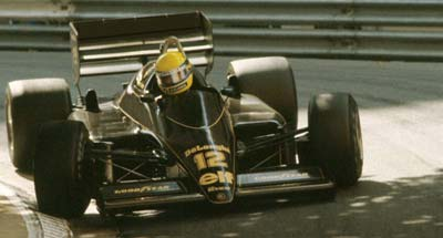 Ayrton Senna in Action, Monaco 1986