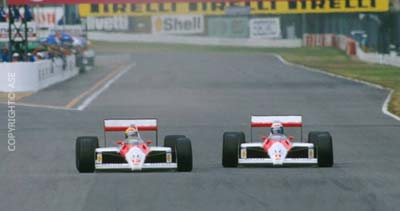 Senna vs Prost - Estoril 1988