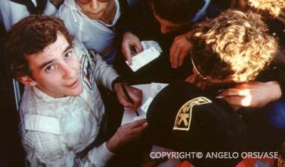 Ayrton Senna in Monaco 1984