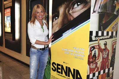Liliane Vasconcelos at SENNA premiere in 2011