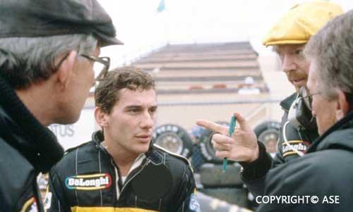 Senna in Montreal 1985