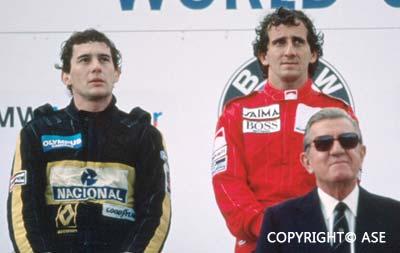 Alain Prost on Senna