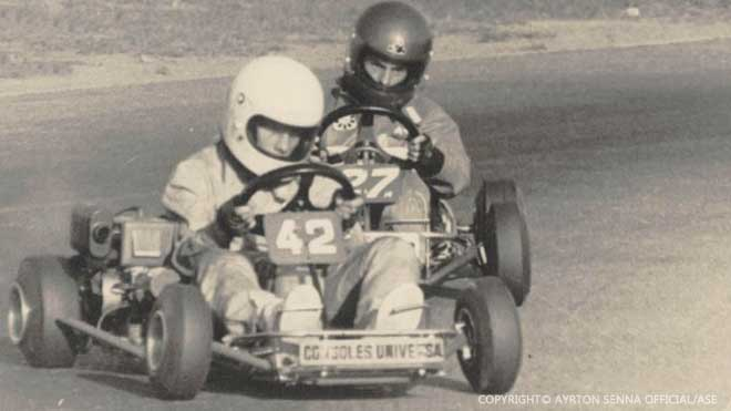 Ayrton Senna Karting Years 2