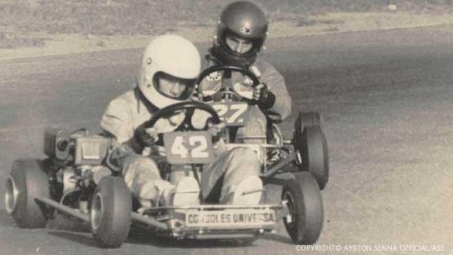 Ayrton Senna Karting Years 2