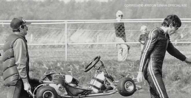 Ayrton Senna Karting years 3