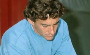 Ayrton Senna at Spa Francorchamps 1992