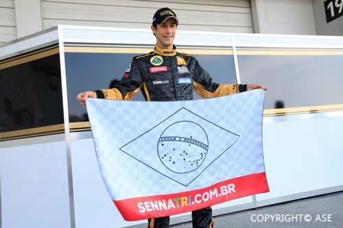 Bruno Senna TRI campaign