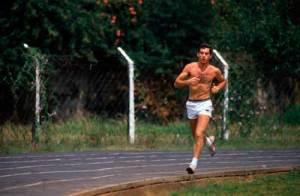 Senna in training