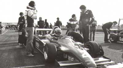 Ayrton Senna in Truxton 1982