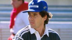 Ayrton Senna at Estoril 1993
