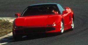 Senna in Testing of Honda NSX
