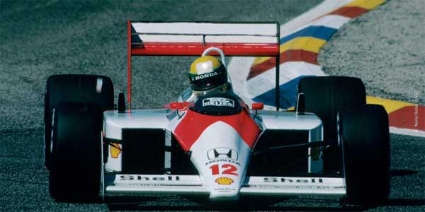 Ayrton Senna in France 1988