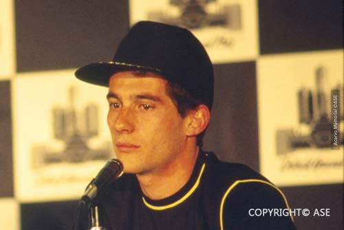 Ayrton Senna,US Grand Prix 1985
