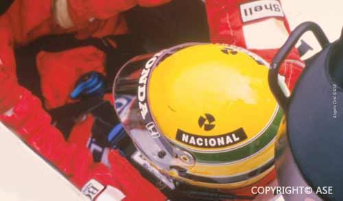 Ayrton Senna in Spain 1988