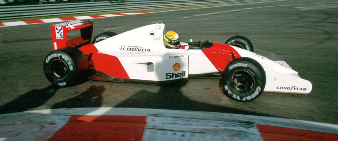 Ayrton Senna in McLaren Honda 1992