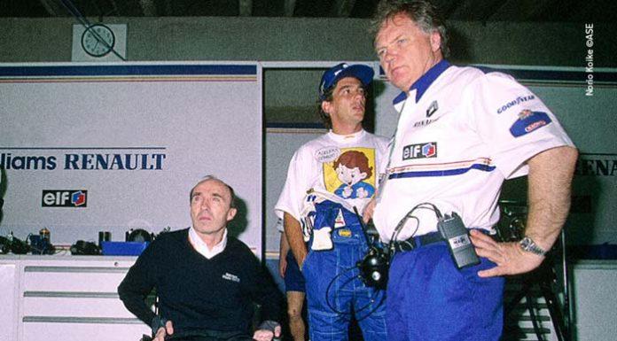 Ayrton Senna in Brazil 1994