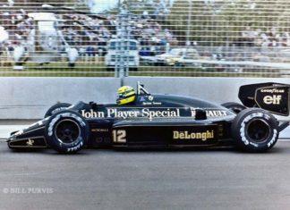 Ayrton Senna in Australia 1985
