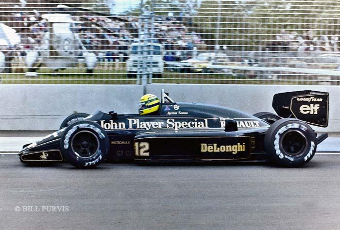 Senna Race Car Driver