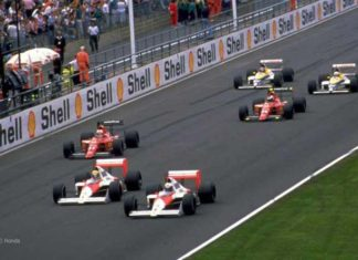 Ayrton Senna in 1989