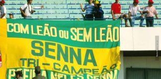 Ayrton Senna three-time F1 champion