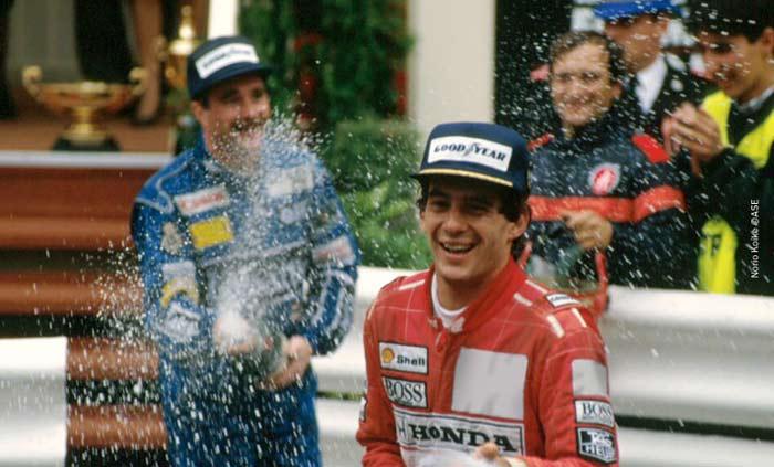 Ayrton Senna in Monte Carlo 1991