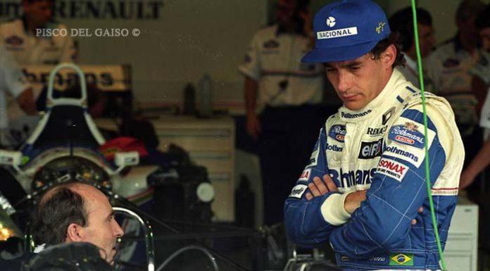 Ayrton Senna and Frank Williams in 1994