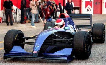 Roland Ratzenberger at Imola 1994