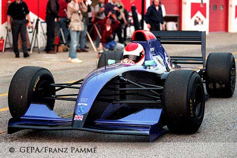 Roland Ratzenberger at Imola 1994