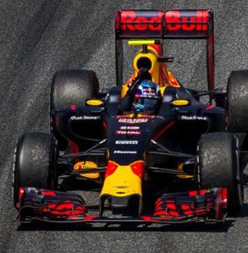 Max Verstappen in Spain 2016