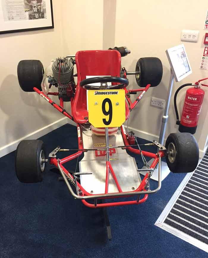 Senna's DAP karting