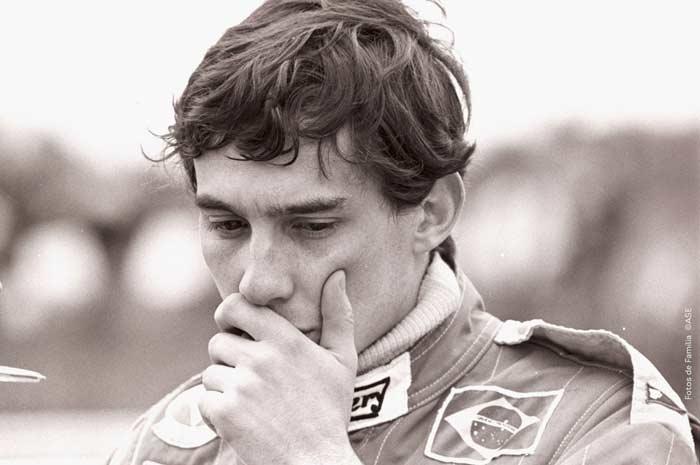 Ayrton Senna in Formula 3