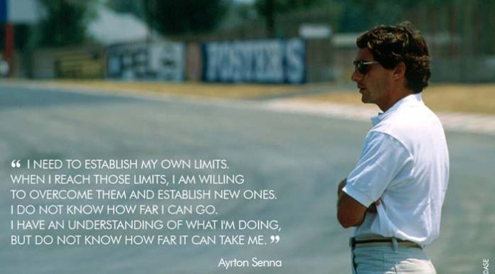 Ayrton Senna Quote