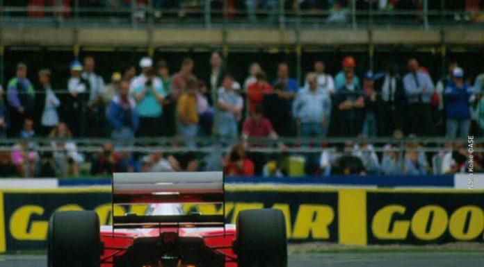Ayrton Senna in Silverstone in 1992