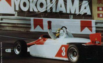 Ayrton Senna at Macau Grand Prix 1983