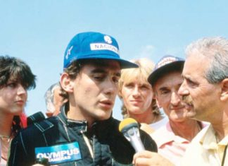 Ayrton Senna in 1985