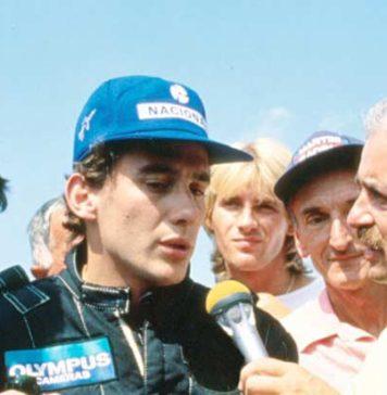 Ayrton Senna in 1985