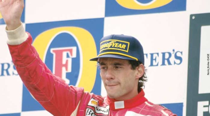 Ayrton Senna in 1993