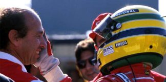 Jo Ramirez and Ayrton Senna