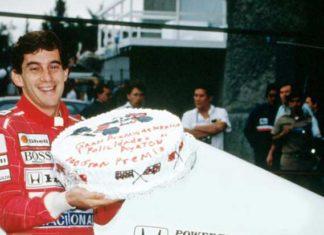 Ayrton Senna at Mexico Grand Prix 90