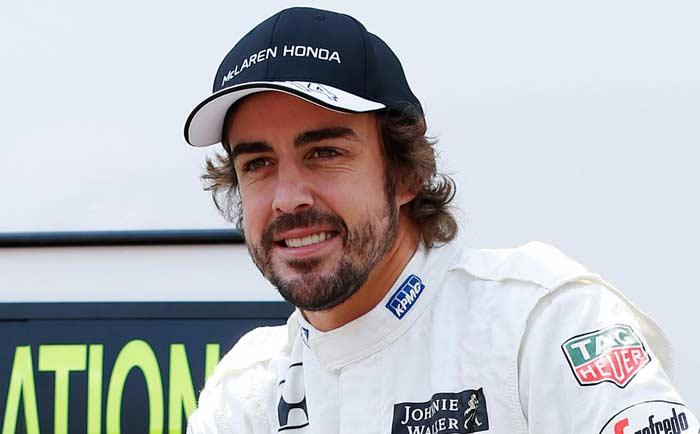 Fernando Alonso in McLaren