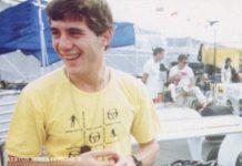 Ayrton Senna in 1984
