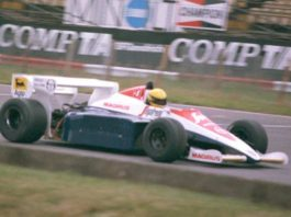 Ayrton Senna, British GP 1984