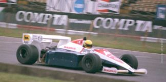 Ayrton Senna, British GP 1984