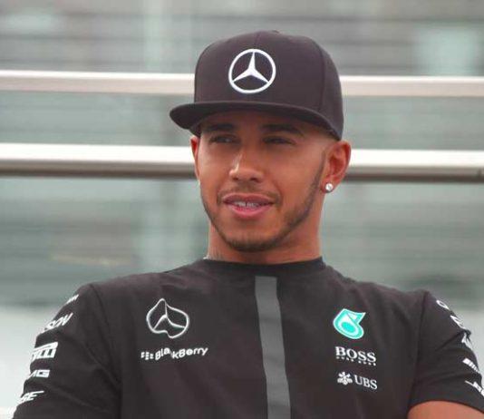 Lewis Hamilton Mercedes driver