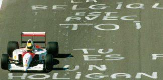 Ayrton Senna at SPA Francorchamps 1991