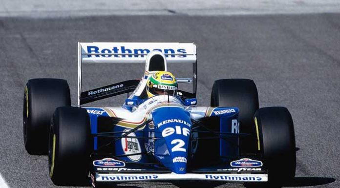 Ayrton Senna at Imola