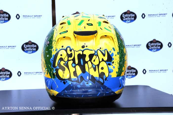 Senna Tribute helmet