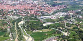 Imola from above